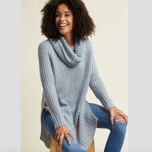 Women's Light Blue Oversized Sweater on Poshmark